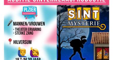 Plzier Entertainment houdt audities voor Sint Mysterie