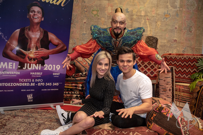 Castvoorstelling Aladdin