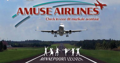 Showkoor AMUSE brengt de show Airlines
