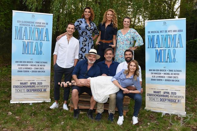 Castvoorstelling Mamma Mia!